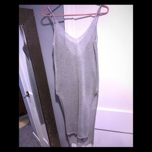 Dresses & Skirts - Dress or Swimsuit coverup silver sparkles